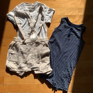H&M toddler bundle 2/3 years Linen set and onesie